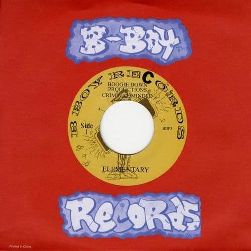 """Boogie Down Productions<br>Elementary / Dope Beat<br>7"""""""